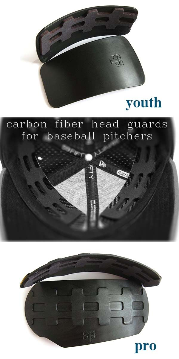 5e47ad694 Carbon Fiber Head protection for baseball pitchers. Protection for ...