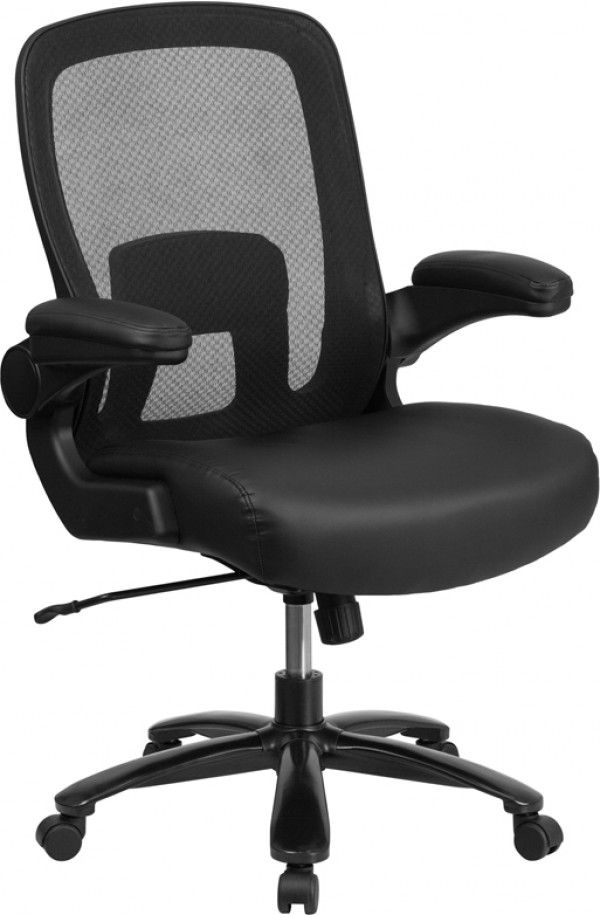 Husky Office Big Tall 500 Lb Capacity Leather Swivel Task Chair Tall Office Chairs Best Office Chair Mesh Office Chair