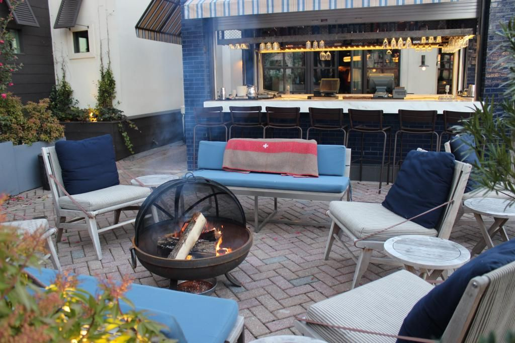Baby, Itu0027s Cold Outside! Atlanta Restaurants Feed The Fire With Fireplaces  And Fire Pits