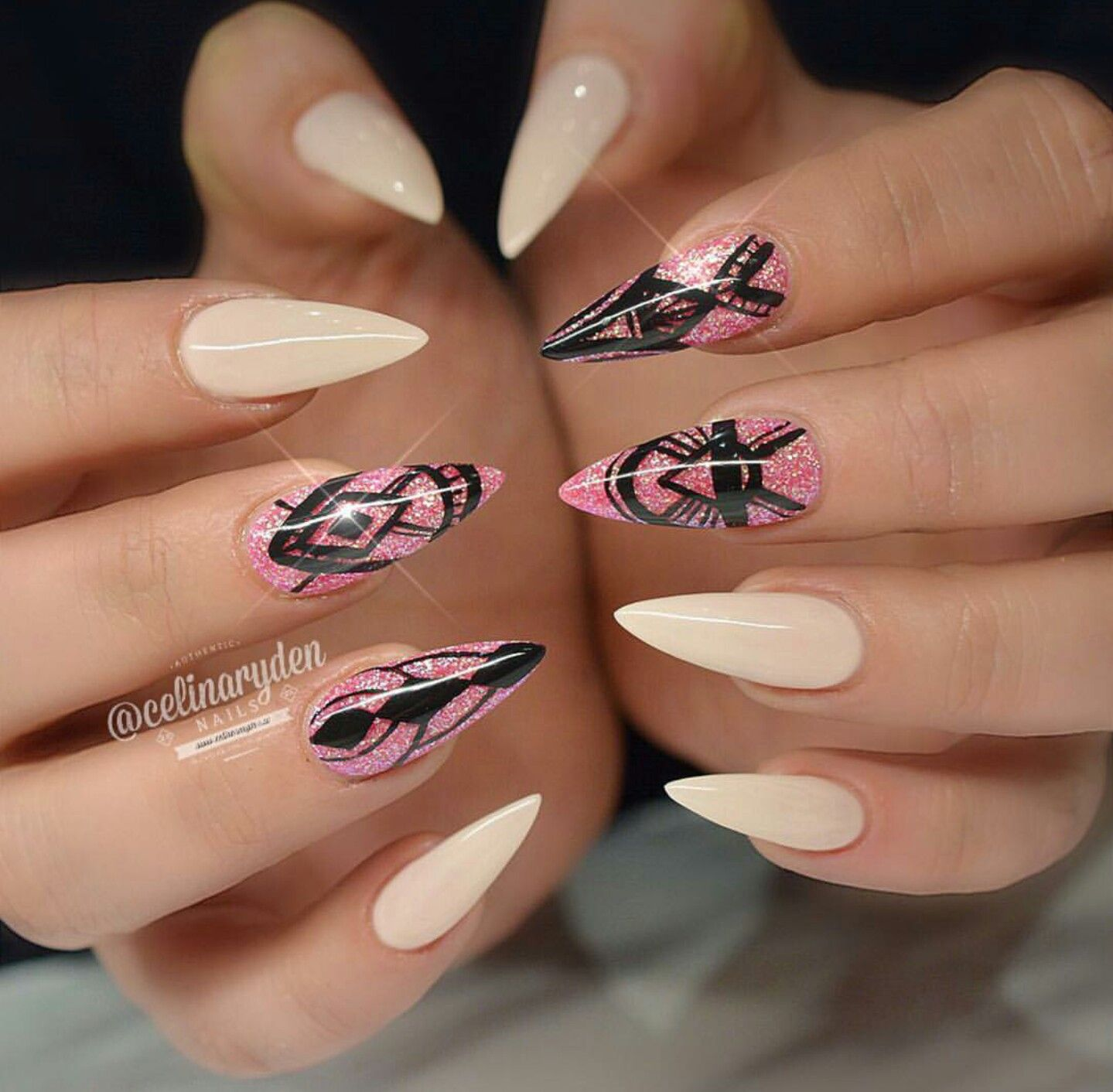 Celina Ryden nails! | I love nails!!!! ❤ ❤ | Pinterest ...