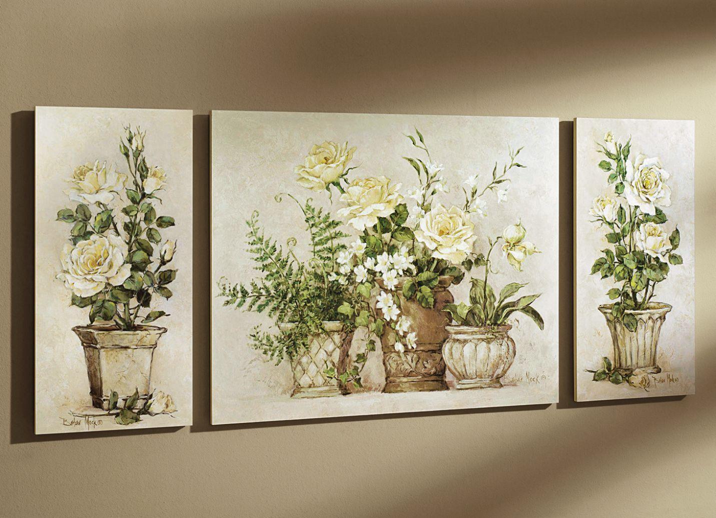 Bilder-Set, 3-teilig - Blumen - Bilder - Wohnaccessoires - Wohnen ...