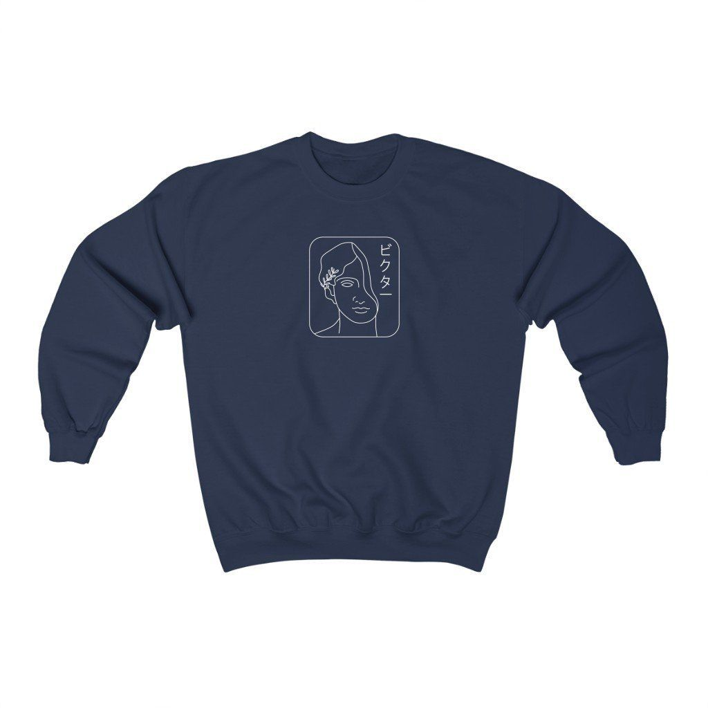 Japanese Victor Sweatshirt - XL / Navy