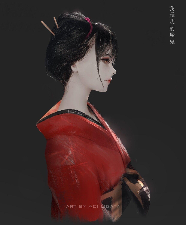 ArtStation yōkai, Aoi Ogata Dễ thương, Nghệ thuật