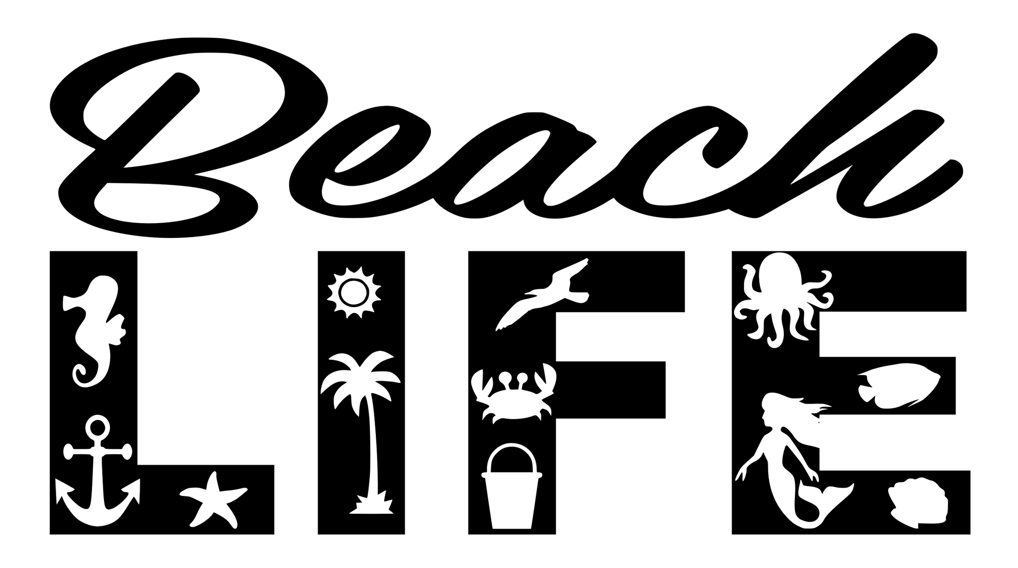 Download Beach-Life.svg | Cricut, Cricut projects vinyl, Svg