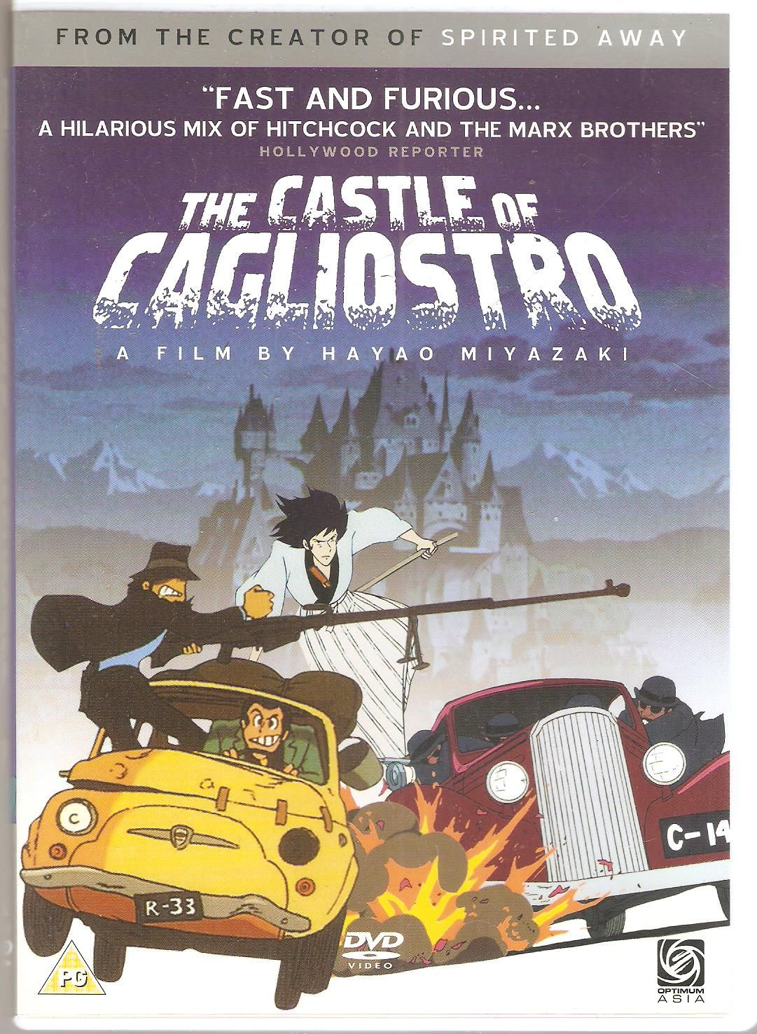 The Castle of Cagliostro. Lupin iii, Japanese animated