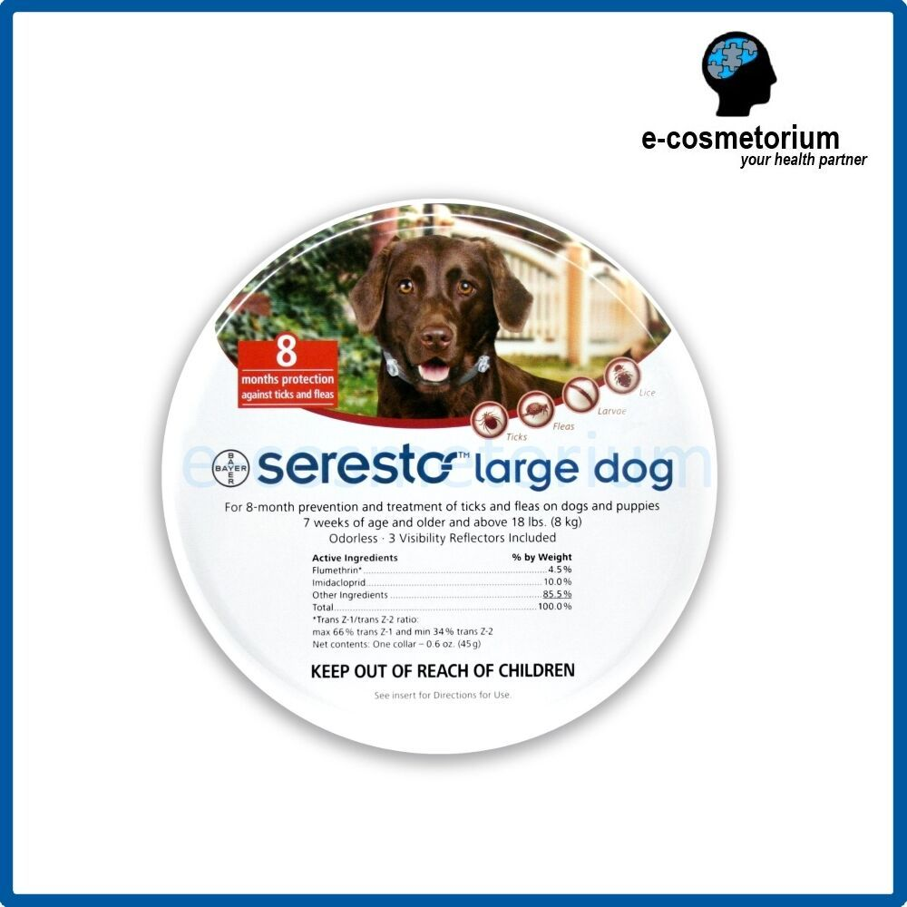 Price C 47 90 Bayer Seresto Flea Tick Collar For Large Dogs Above 8kg 18 Lbs Bayer Dog Care Supplies Pet Supplies Plus Dog Supplies List