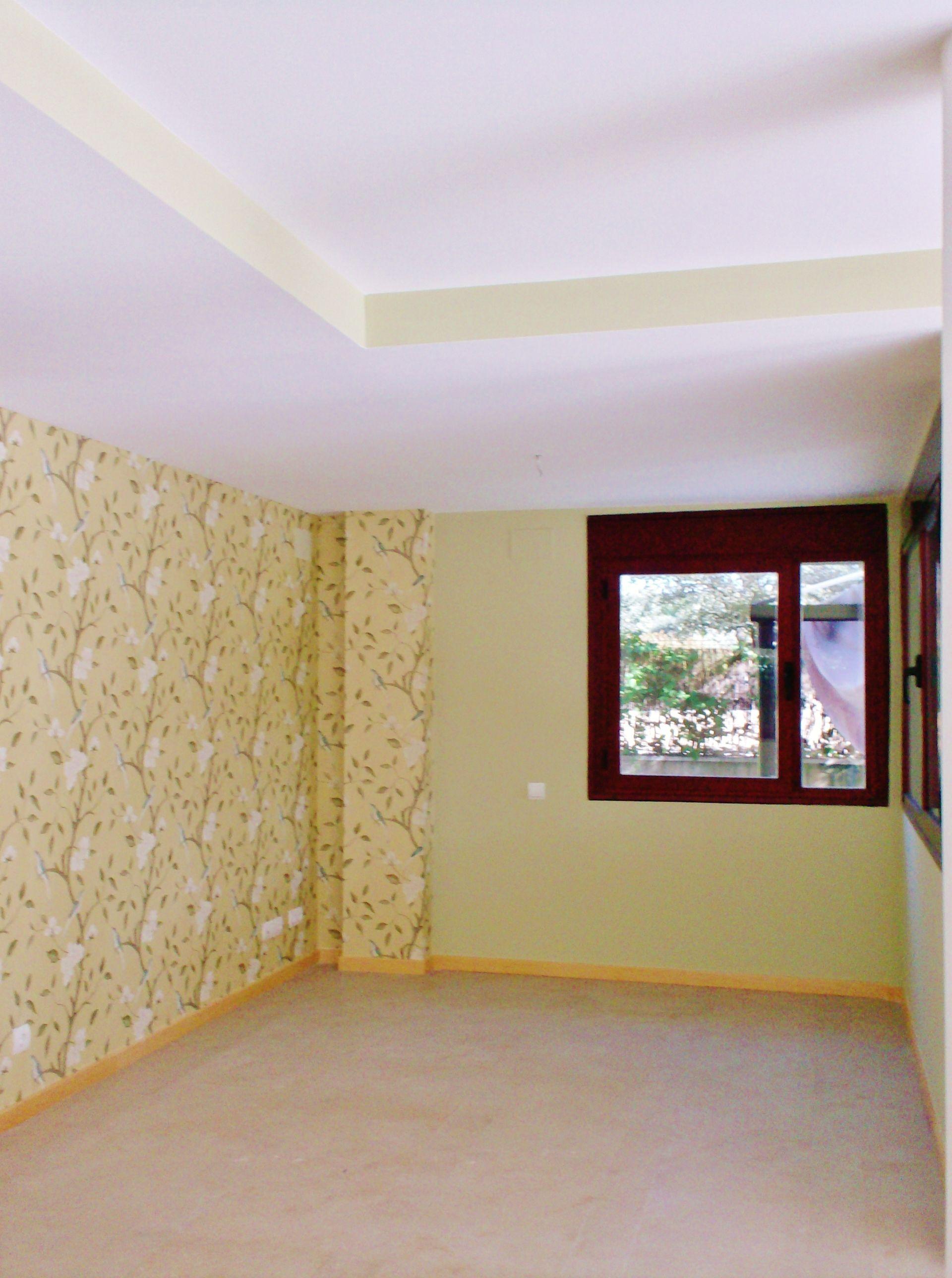 Pintura decorativa y papel pintado sal n decoraci n paredes decoracion paredes pintura - Pintura decorativa paredes ...
