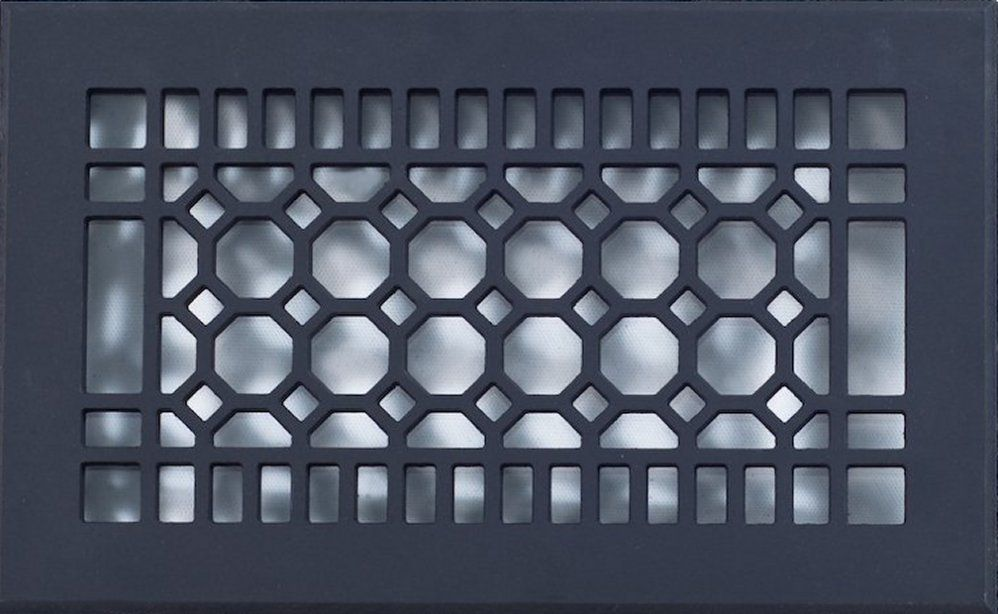 outdoor bathroom vent cover%0A Octogon shaped grilles  vent covers  register vents Custom Grill Cover  air  vent