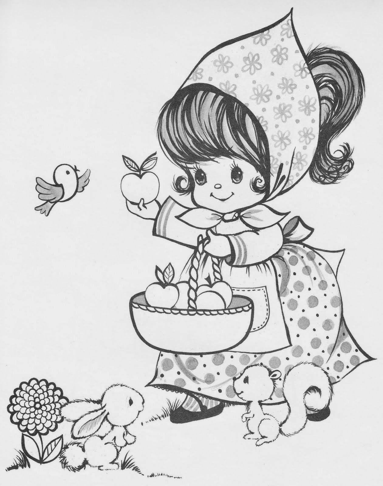 50 desenhos de crianças para colorir, pintar, preparar atividades ...