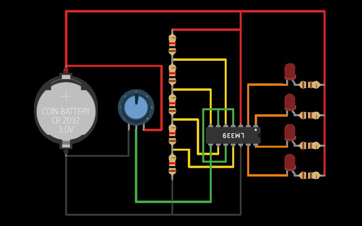 Bargraph Voltage Indicator Camuflaje
