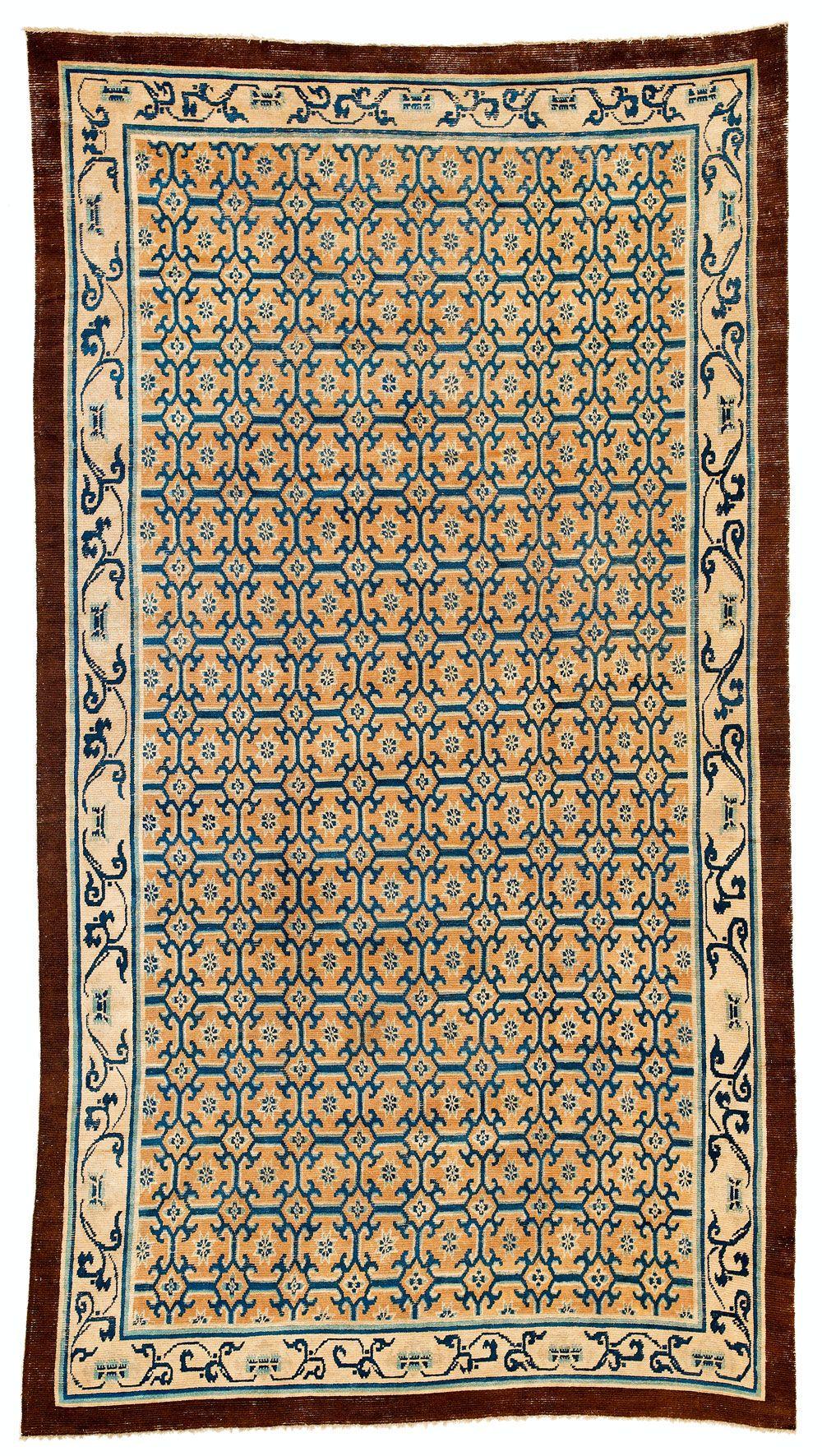 Ningxia carpet, west China, second half 18th century