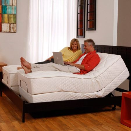 Split King Adjustable Bed With Mattress