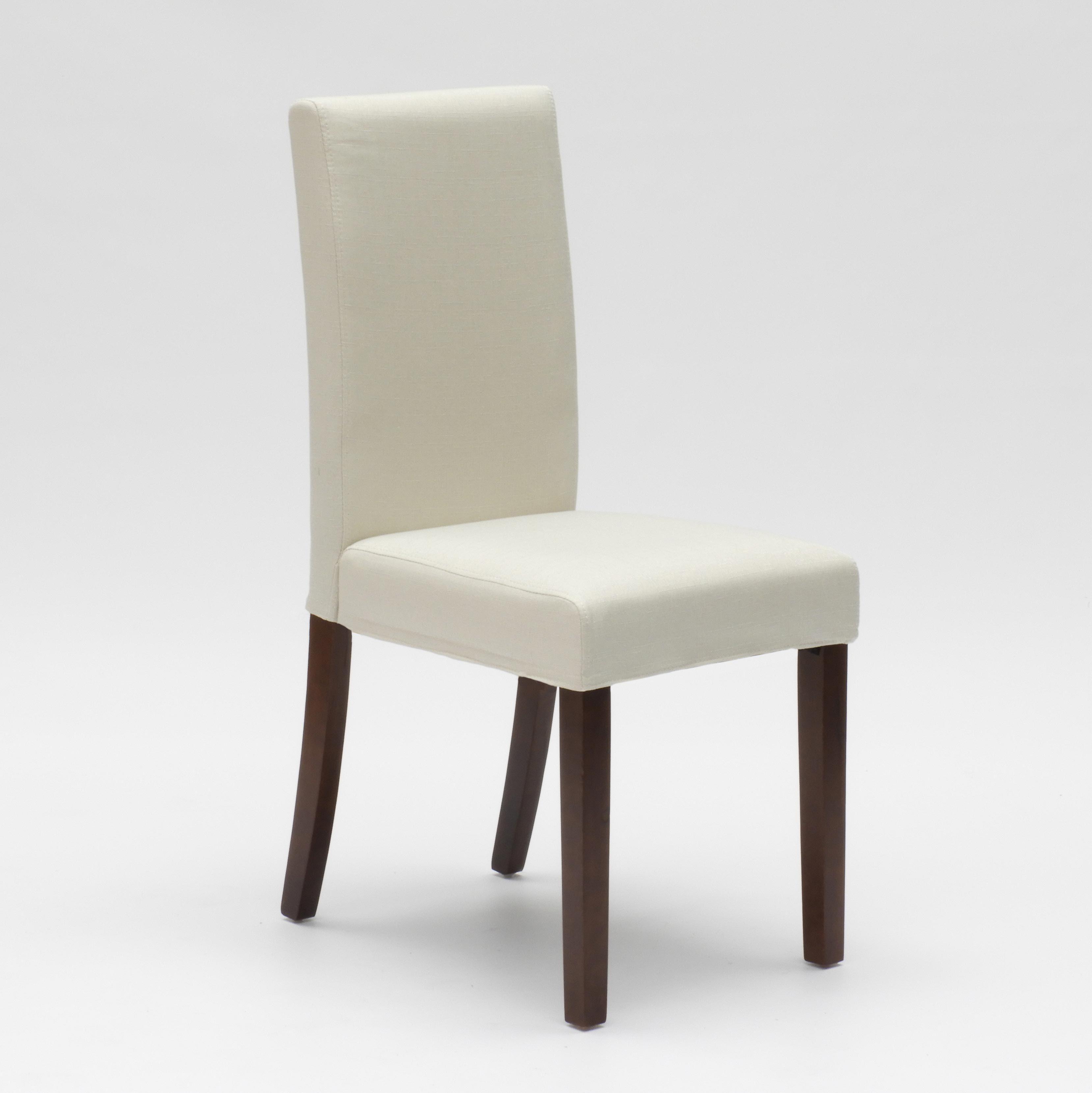 Sedia in legno imbottita stile henriksdal per cucina sala da