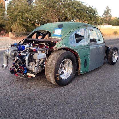 Insane Drag Bug Vw Rat Rod Rods Hot Retro Cars