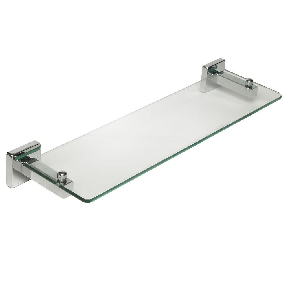 Shelf Macau Collection Glass and Chrome Effect | Macau, Chrome and ...