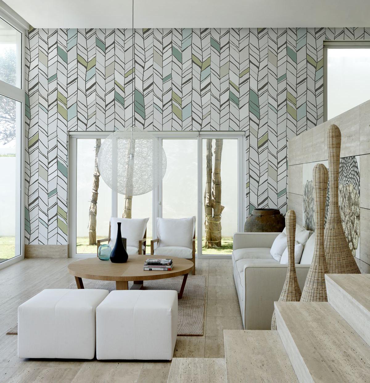 Scandinavian Decorideas: Natural Harmony Removable Wallpaper