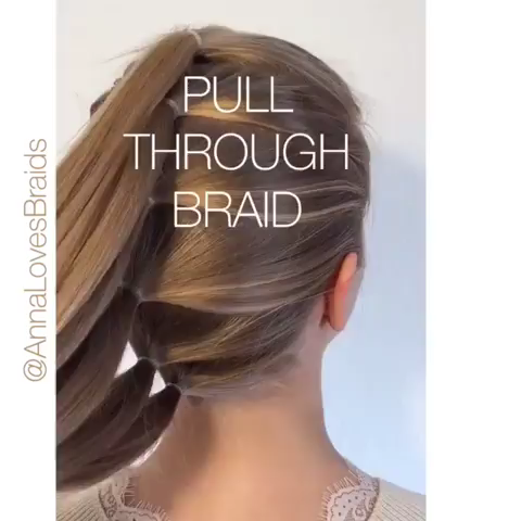 Photo of Pull through Braid Video Tutorial