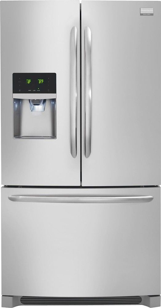 Frigidaire Gallery 22 6 Cu Ft Frost Free Counter Depth French
