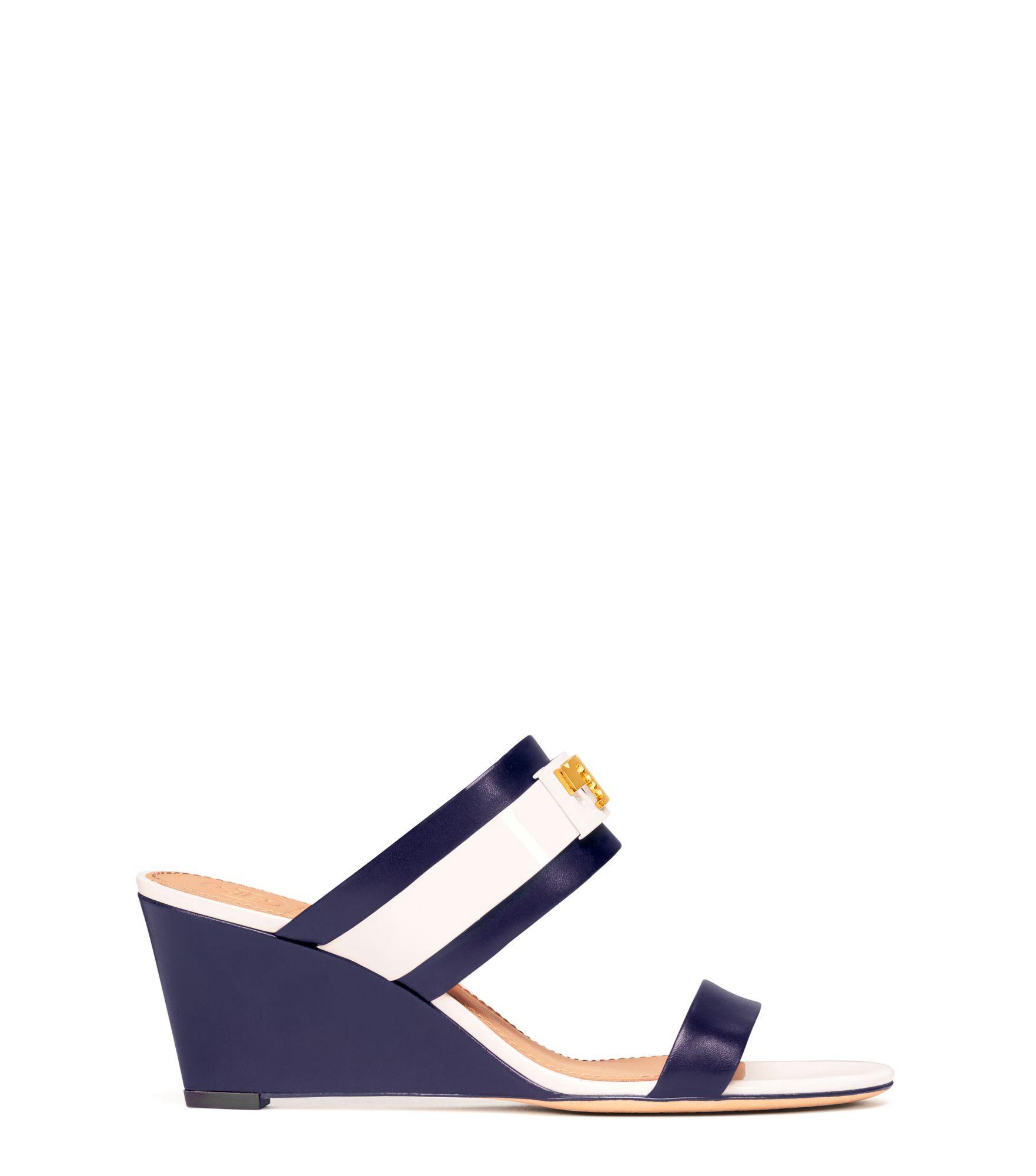 3e3eba052ffb TORY BURCH GIGI WEDGE SANDAL.  toryburch  shoes