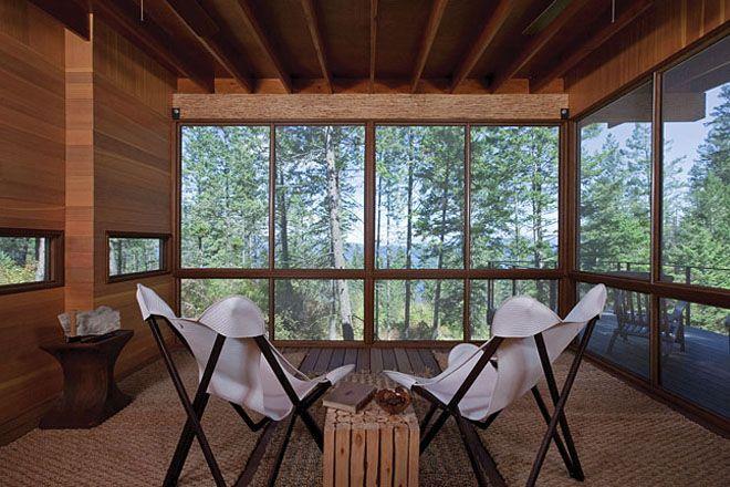 Weekend Cabin: Flathead Lake, Montana