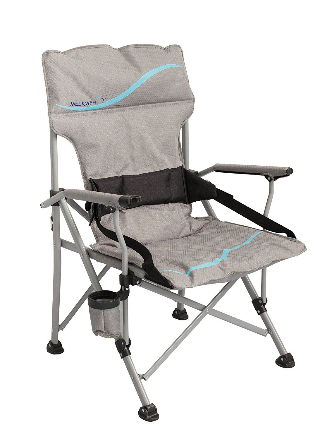 Meerweh 74042 2XLarge Deluxe Padded Folding Camping Chair
