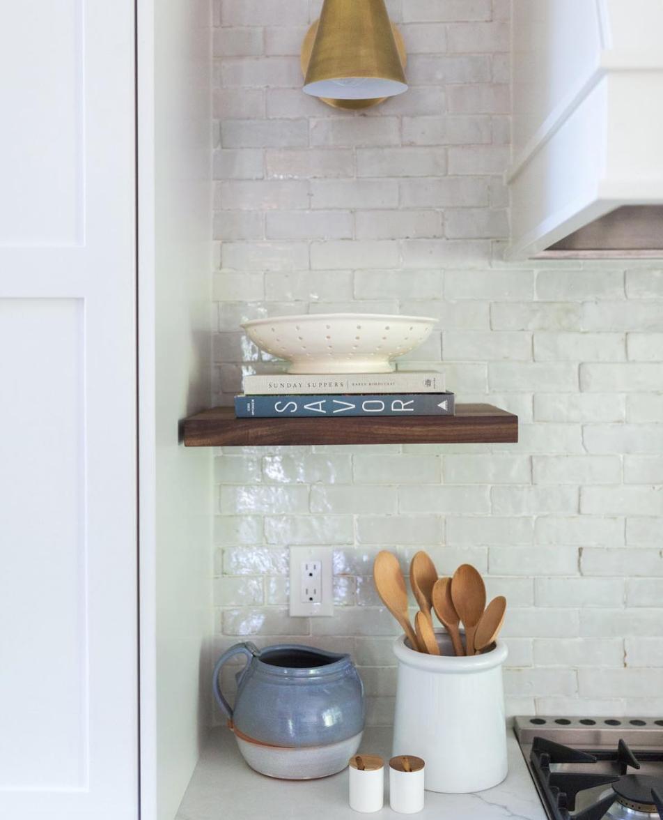 Zellige Weathered White Subway Tile Dwell Kitchen Kitchen Remodel Diy Kitchen Renovation
