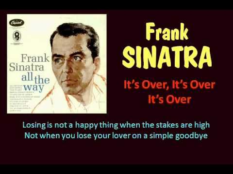 Its Over Frank Sinatra