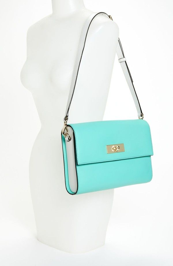 kate spade new york 'battery park city - patti' leather shoulder bag, small | Nordstrom