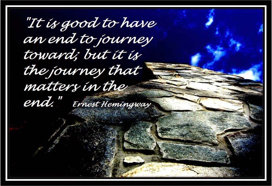 FROM BRAIN TUMOR AND BEYOND....: JOURNEY MATTERS