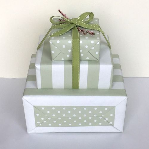 Sylish gift wrapping by Jane Means