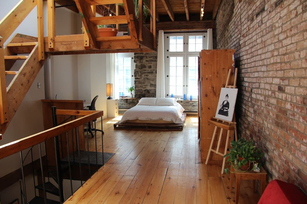 Beautiful Loft In Old Montreal Apartments For Rent Montréal