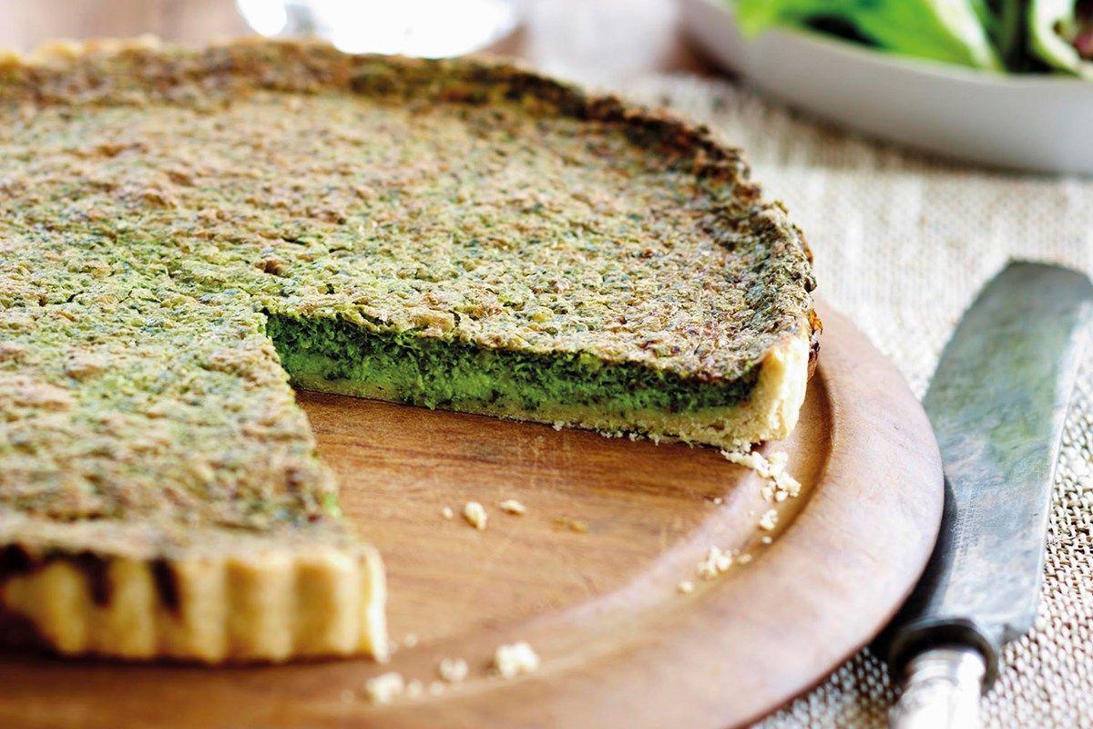 Spinach tart ( MAKES 1 large or 2 medium tarts ) Recipe