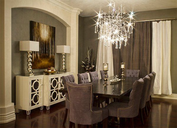 20 Beautiful Dining Rooms With Velvet Chairs  Room Small Dining New Fancy Dining Room Sets Design Ideas