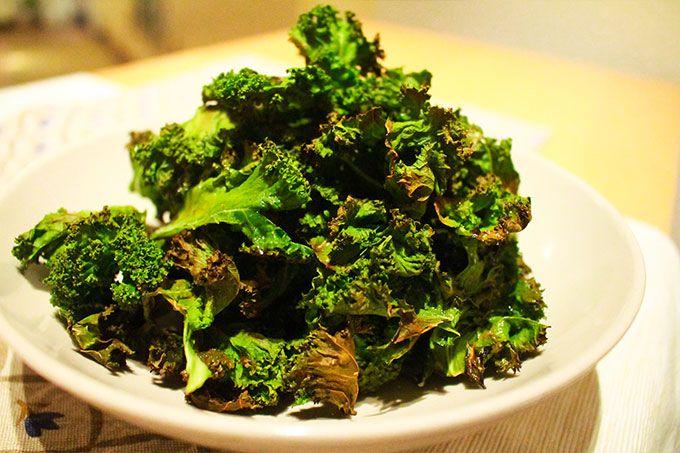 Chips de Kale (Col rizada)