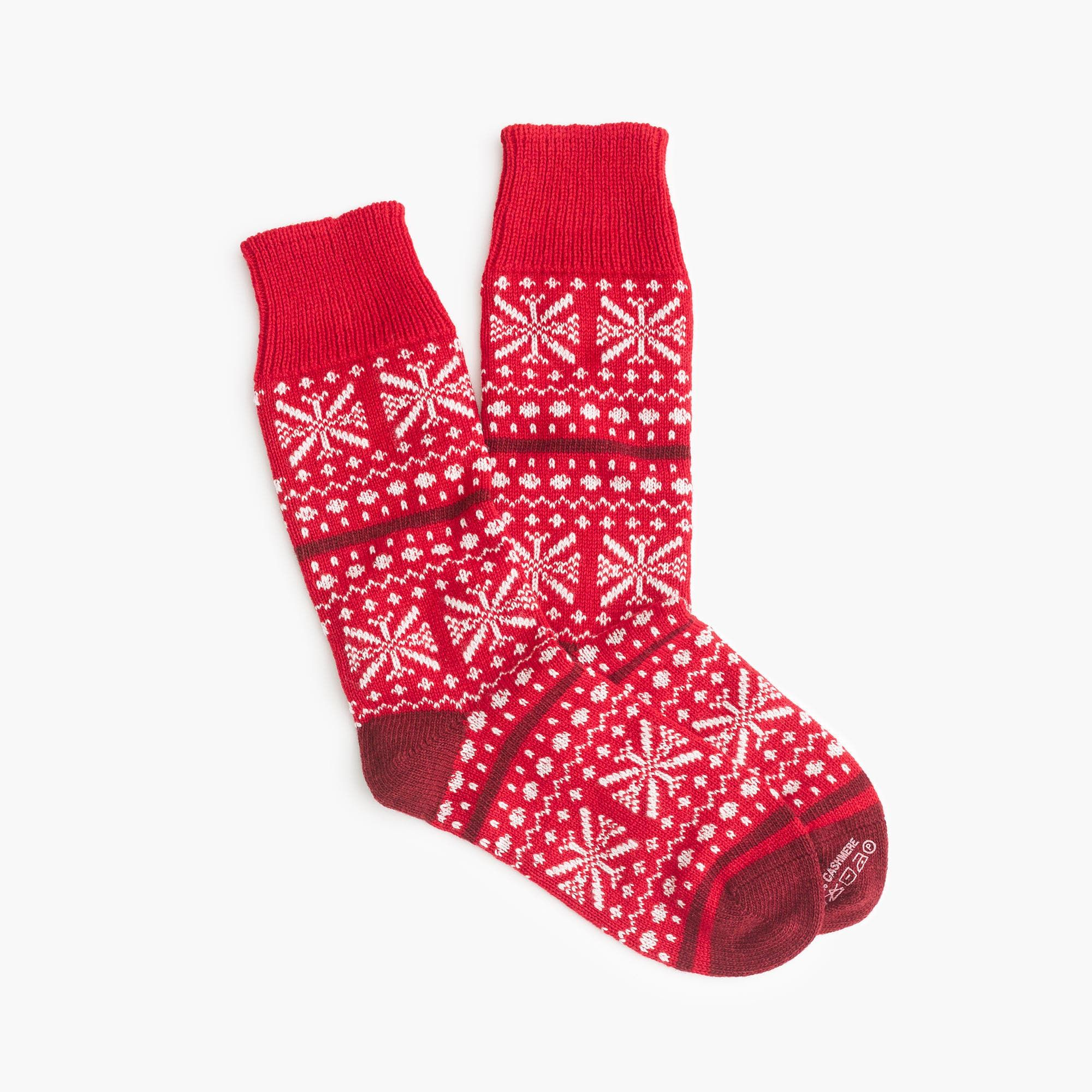Jcrew Womens Corgi Trouser Socks In Cashmere