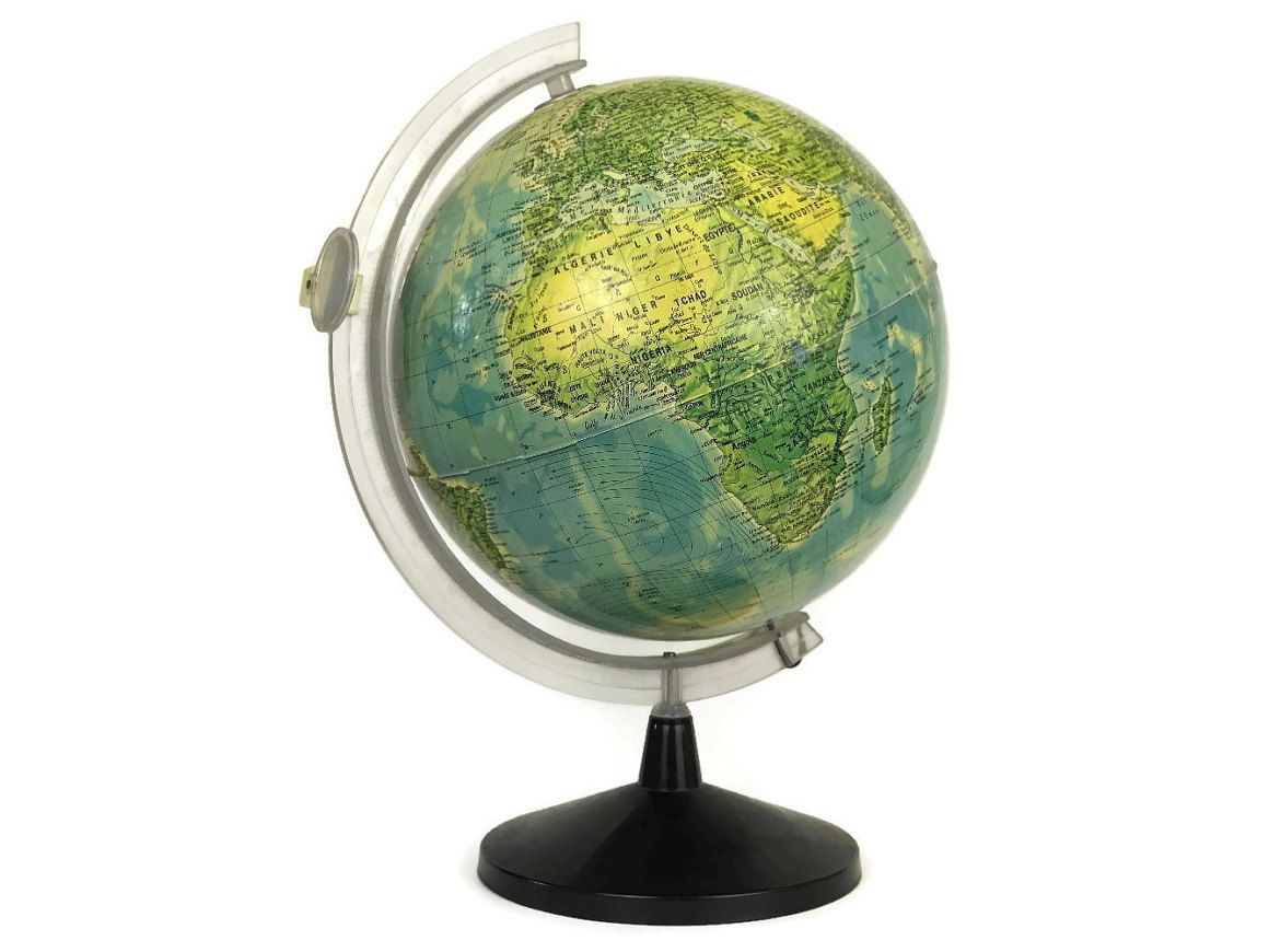 World globe desk lamp illuminated map globe lamp vogueteam world globe desk lamp illuminated map globe lamp gumiabroncs Gallery