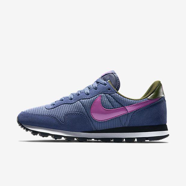 Women's Nike Air Pegasus 83 Blue Legend/Faded Olive/Black/Fuchsia Flash