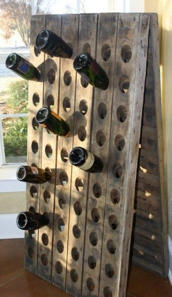 Want A Wine Rack Like This One Someday Riddling Rack Pop Up