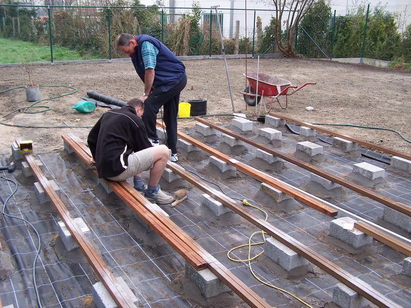 Worteldoek liefst niet vergeten terras pinterest gardens - Hoe een overdekt terras te bouwen ...
