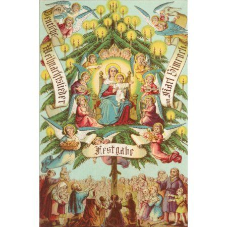 Weihnachtslieder Modern Deutsch.Weber Deckers Lith Deutsche Weihnachtslieder 1859 Verlag Von To