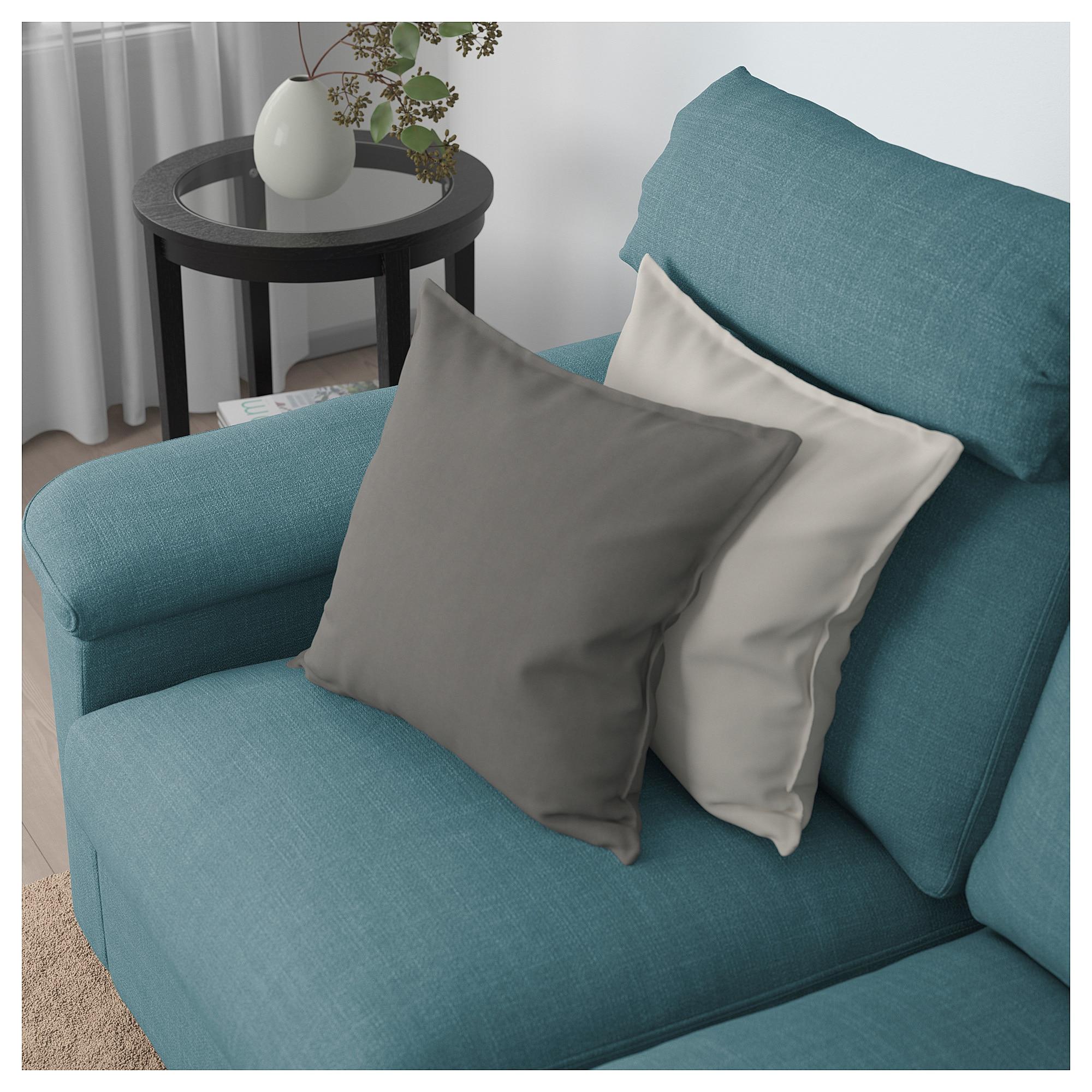 Ikea Lidhult Loveseat Gassebol Blue Gray Sofa Back Cushions Sofa Frame Living Room Sofa