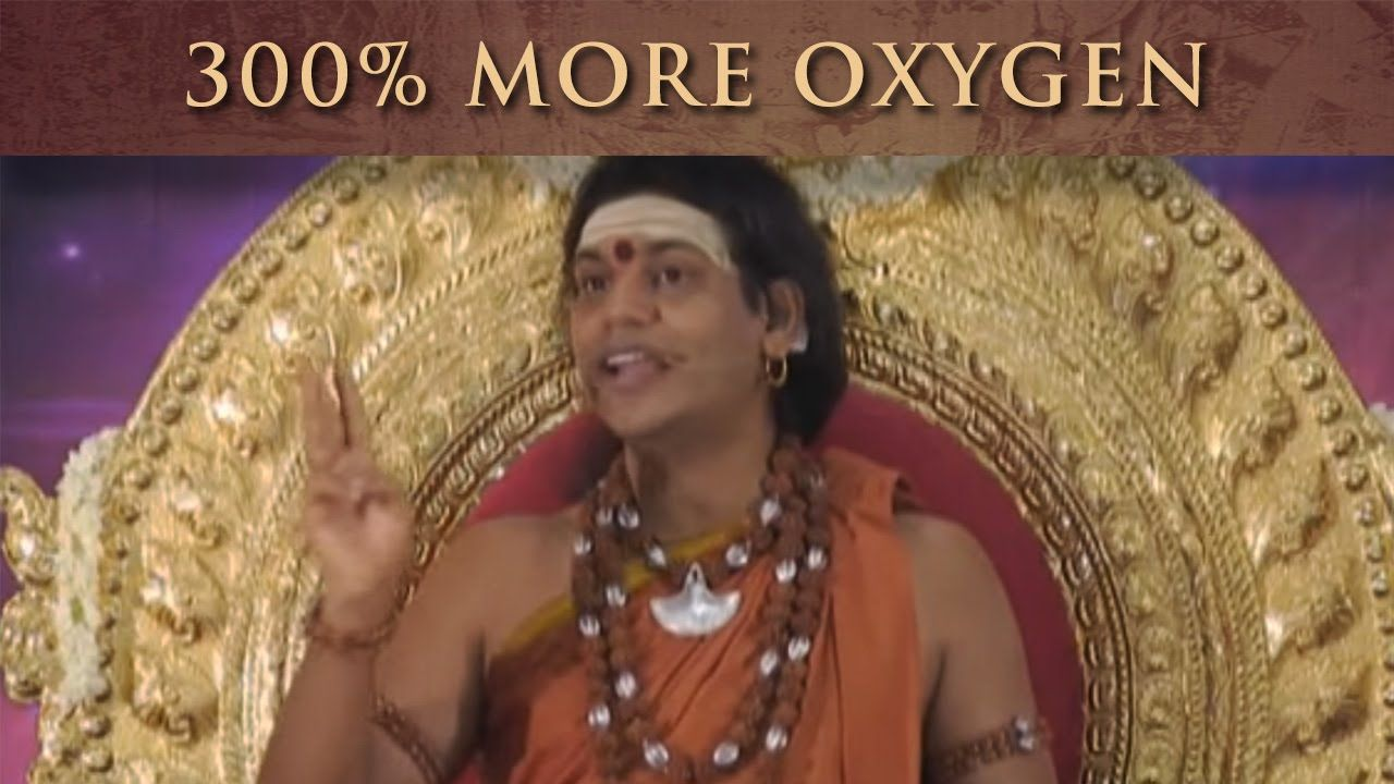 Increase your oxygen level by 300 oxygen spiritual