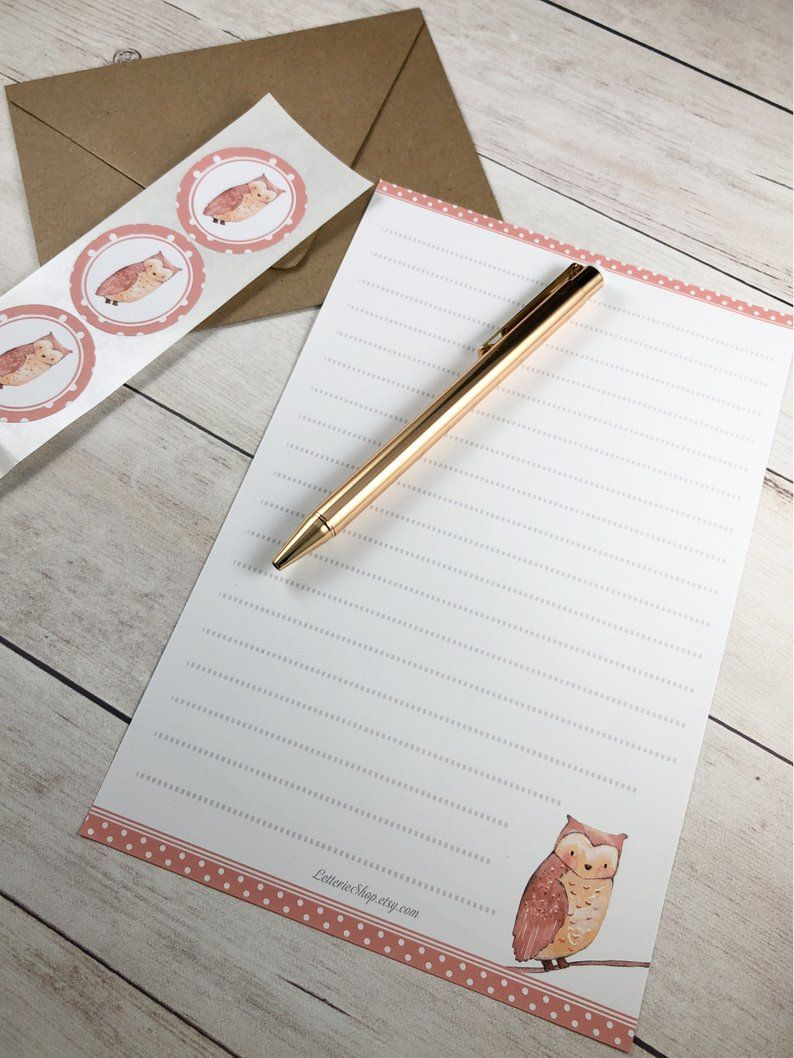 21+ Letter writing paper stationery sets trends