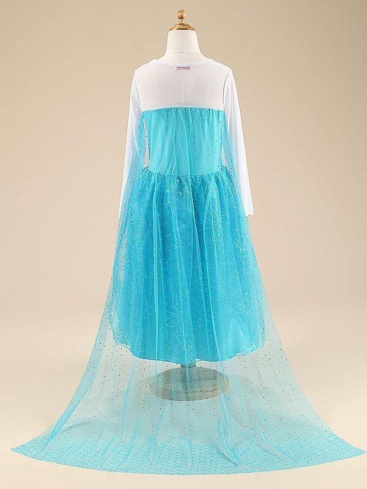 Beautiful Frozen Princess Dress!