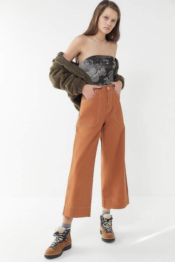 517efd1ab3 Urban Outfitters Peyton Floral Velvet Tube Top