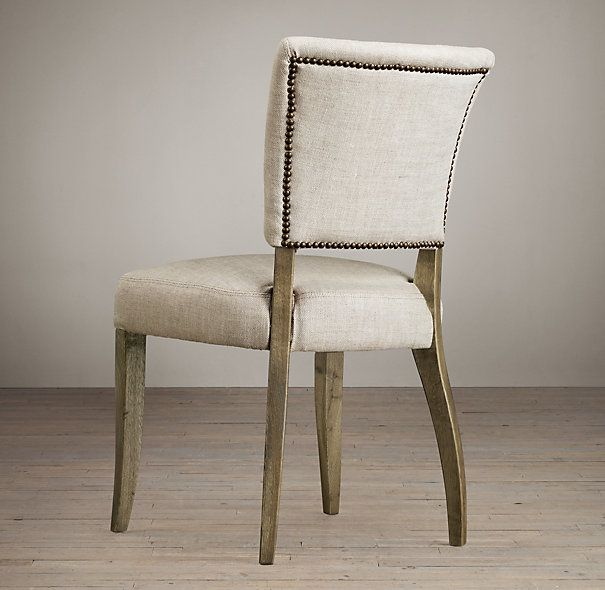 Adéle Upholstered Dining Chair | Fabric Arm U0026 Side Chairs | Restoration  Hardware