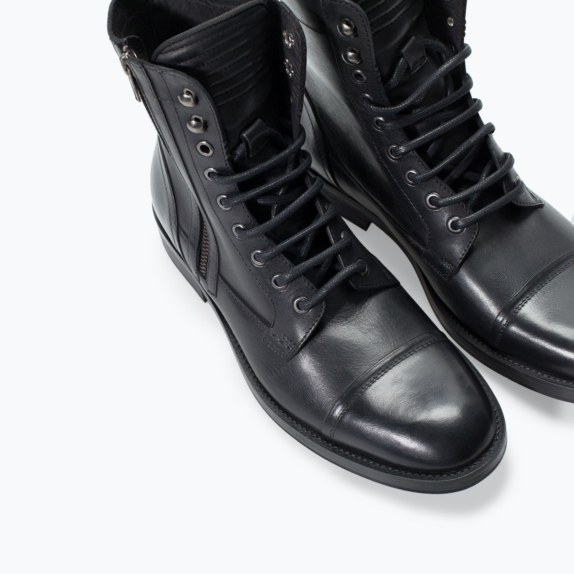botas de vestir hombre zara