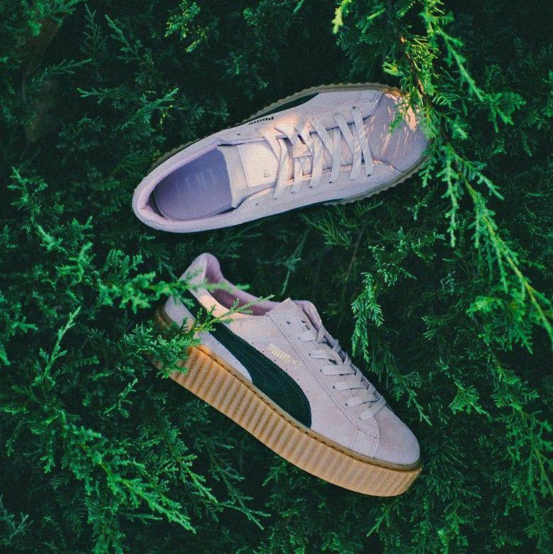 Puma Chaussures Rihanna Nouveaux de Creepers coloris 1vqCxwE