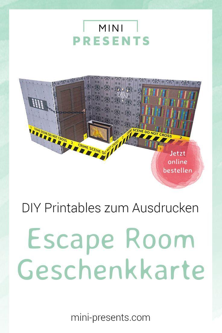 mini presents do it yourself escape room geschenkkarte. Black Bedroom Furniture Sets. Home Design Ideas