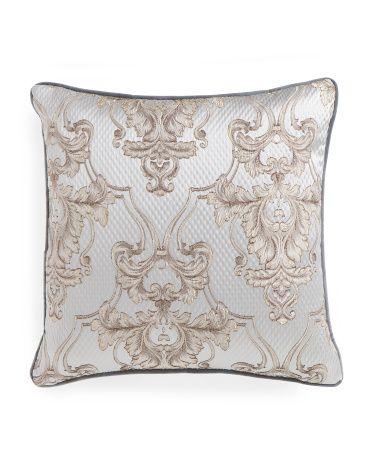 40x40 Giovani Print Pillow Decorative Pillows TJMaxx House Inspiration Tj Maxx Decorative Pillows